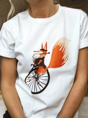 busy fox tshirt
