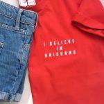 i believe in unicorns tshirt