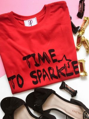 time to sparkle tshirt
